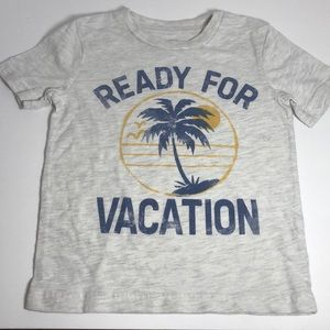 """Jumping Bean 3T """"Ready For Vacation"""" T-Shirt"""